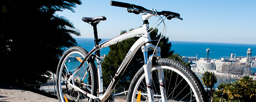 Barcelona bike rentals, mountain bikes