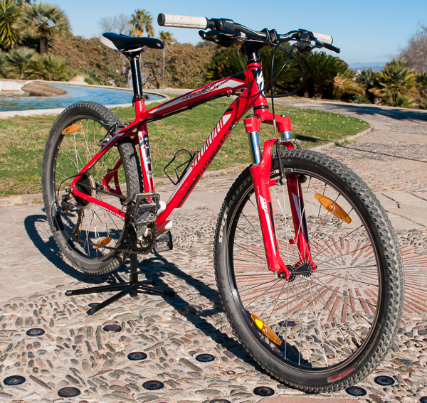 Our Specialized Hard Rock Sport Mountain bike will make your Barcelona mountain bike tour a nice ride.