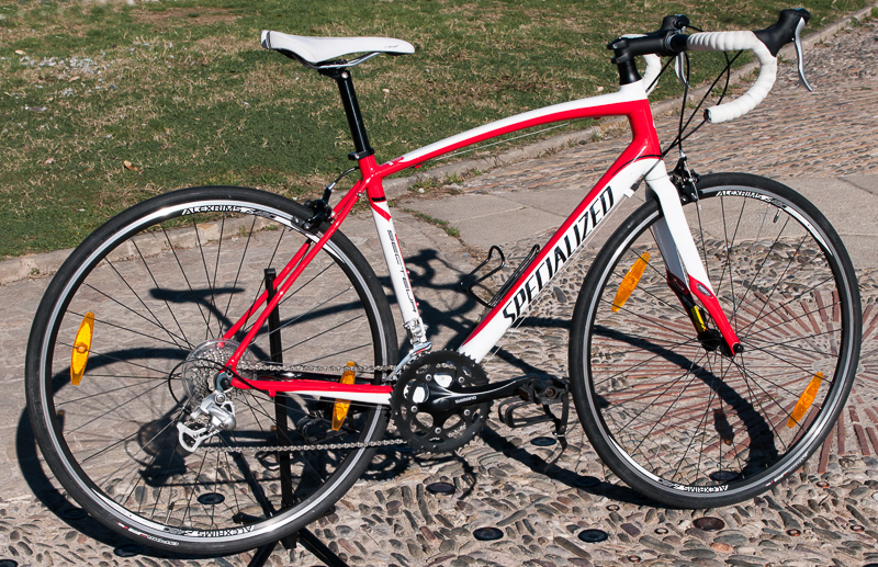 Barcelona bike rentals, Specialized Secteur Compact